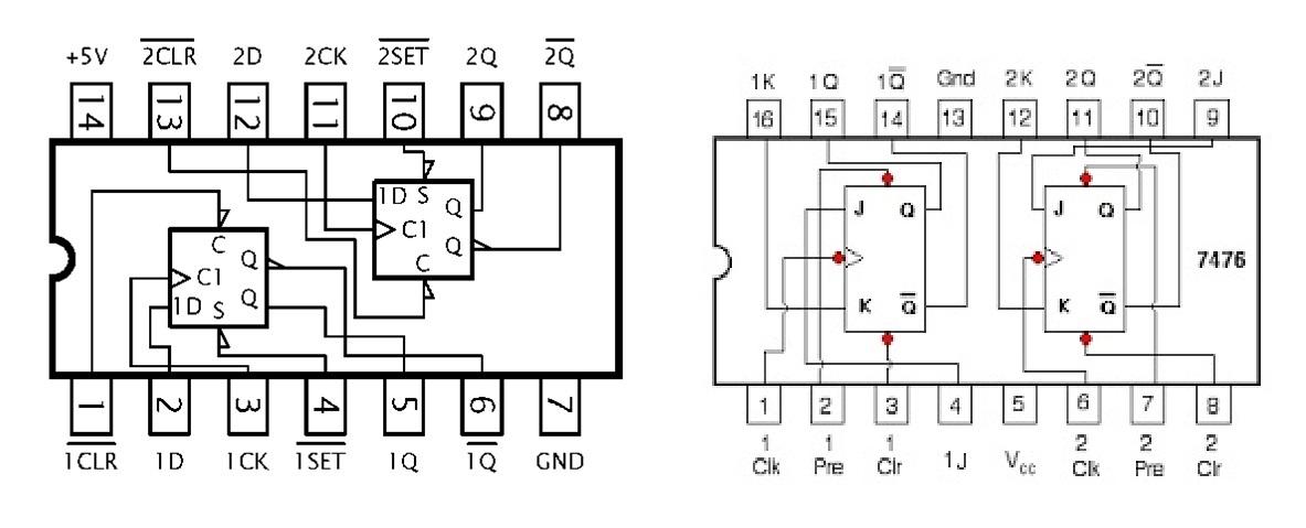 Circuito Flip Flop : Circuito flip flop d simples com dois