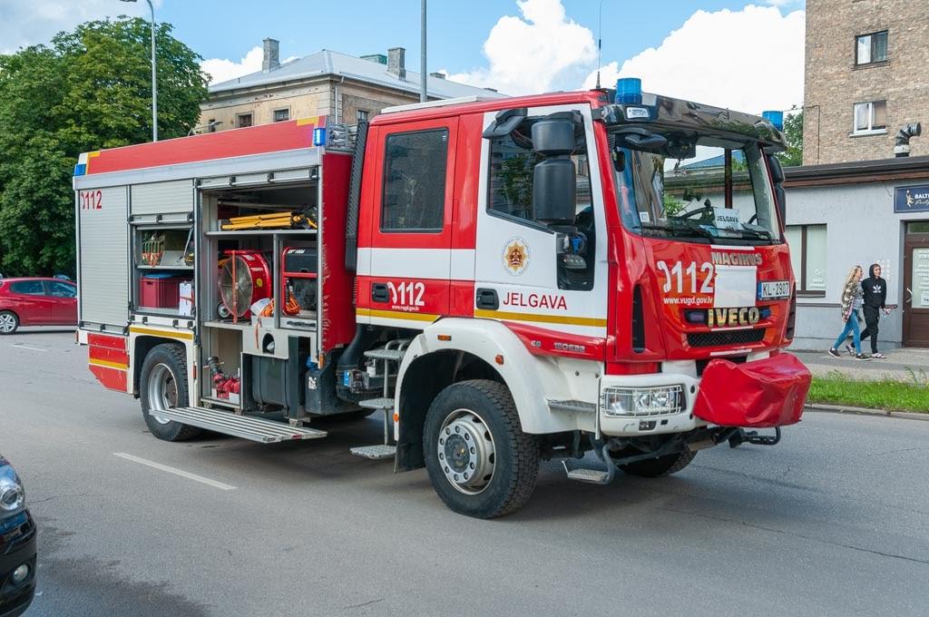 VUGD ugunsdzēsēju mašīna