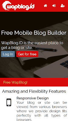 wapblog homepage