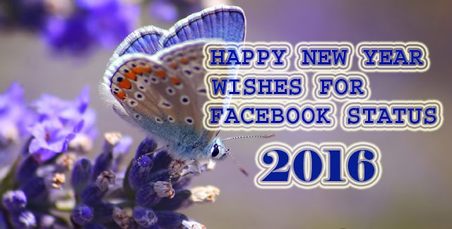 Happy New Year Wishes on Facebook Status