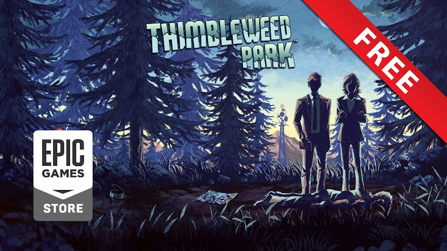 thimbleweed park epic games store free