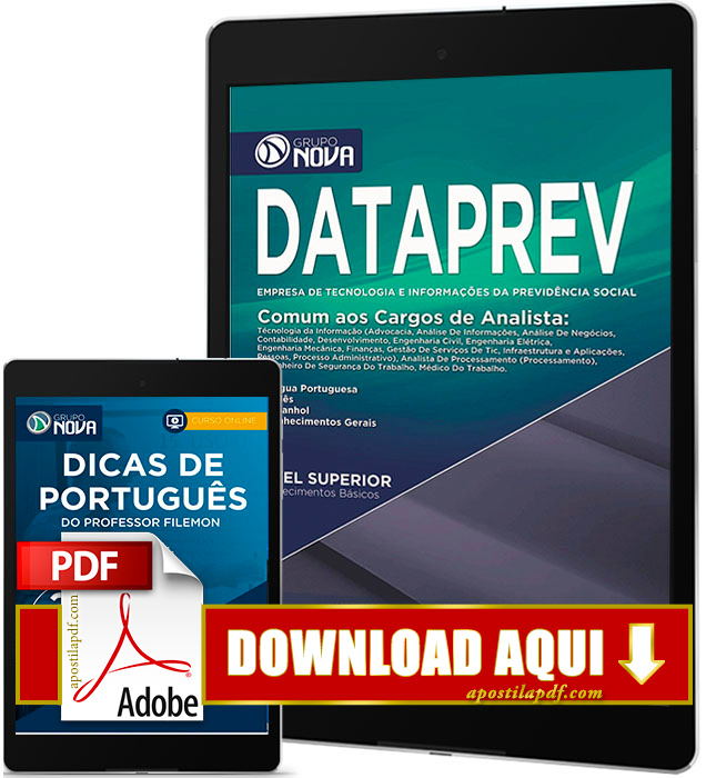 Apostila DATAPREV 2016 PDF Download Analista