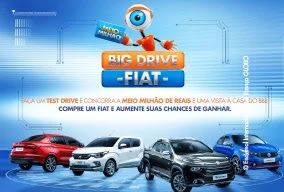 Promoção BBB19 FIAT Big Drive