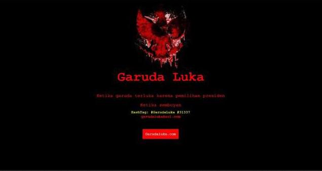 Garuda Luka, Manifestasi Kekecewaan Peretas. Exclusive Special Interview.