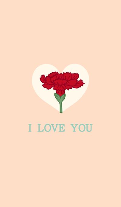 I love you-Carnation