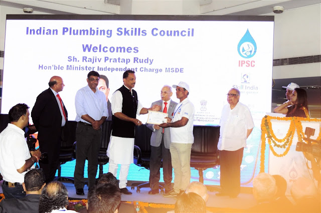Govt. focusing towards making world class plumbers: Rajiv Pratap Rudy