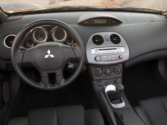 Mitsubishi Eclipse 4G Spyder, wnętrze