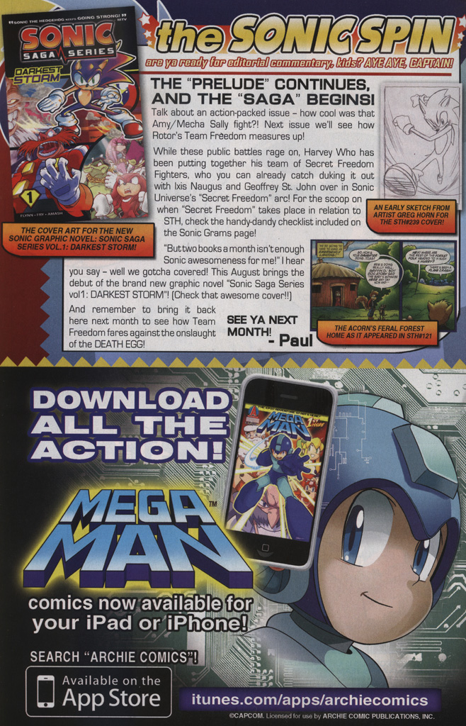 Read online Sonic The Hedgehog comic -  Issue #239 - 32