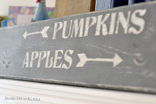 Pumpkins and Apples Sign