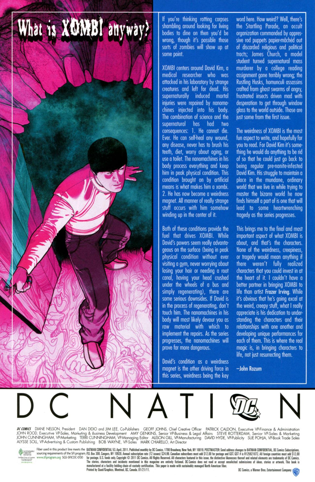 Batman Confidential Issue #53 #53 - English 24