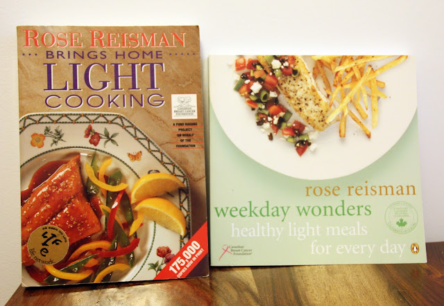 Rose Reisman cookbooks