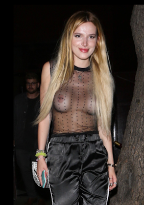 is this fashion actress bella thorne steps out in see