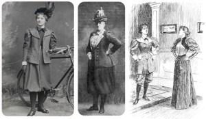 Sobre las primeras bicicletas y las primeras ciclistas.