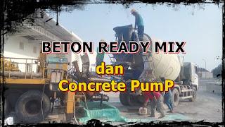 sewa pompa beton / rental concrete pump murah