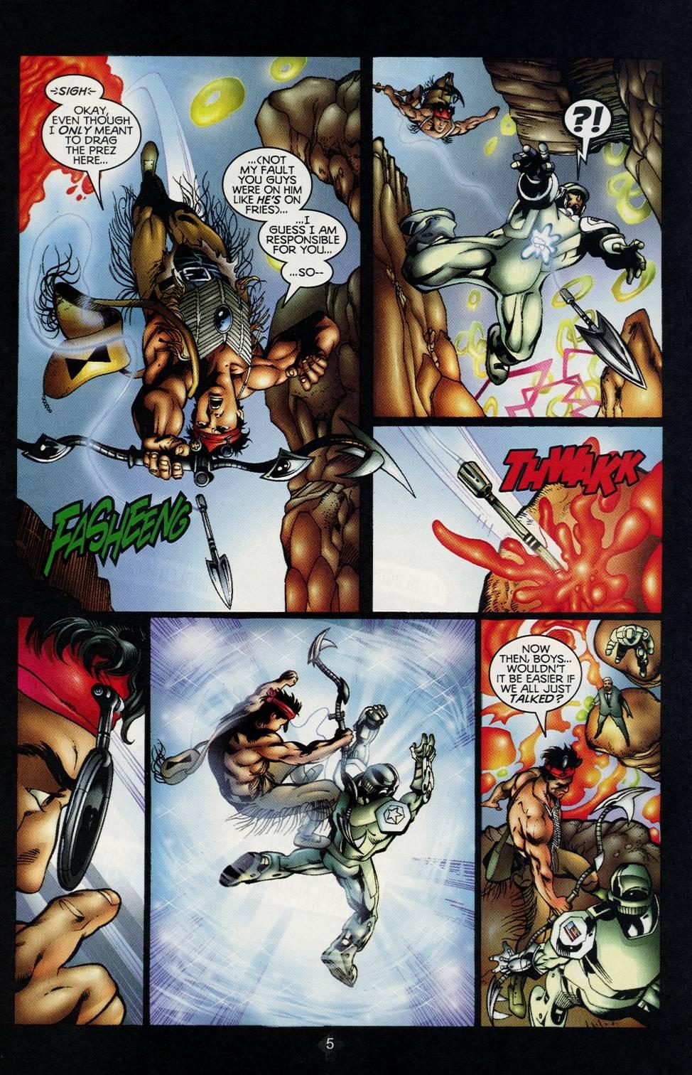 Read online Turok comic -  Issue #2 - 5