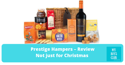 Prestige Hampers Review – Not just for Christmas (AD)