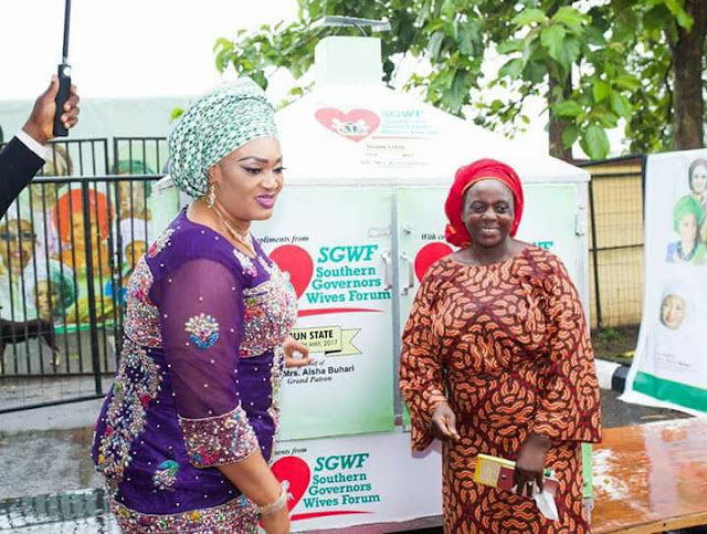 Southern Governors' Wives Empower Ogun State of Nigeria Women