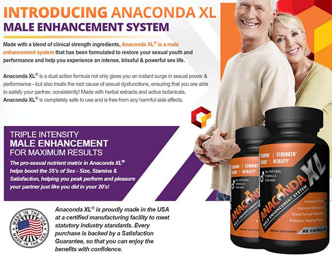 Anaconda male enhancement pills