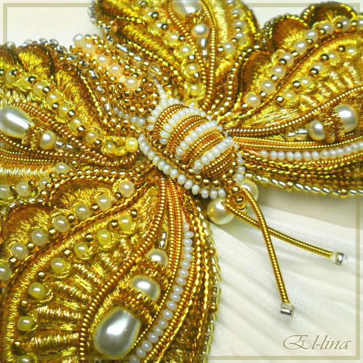 Gorgeous Bead Embroidery By Elena Emelina The Beading Gems Journal