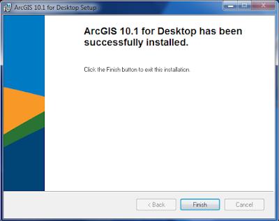cài đặt arcgis 10.1