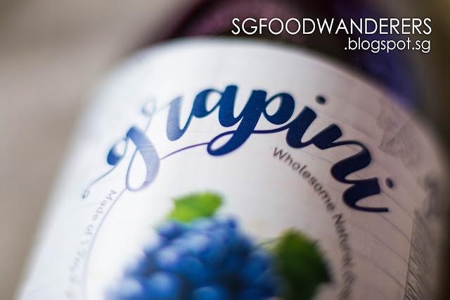 GRAPINI's 100% Natural & Wholesome Grape Juice!