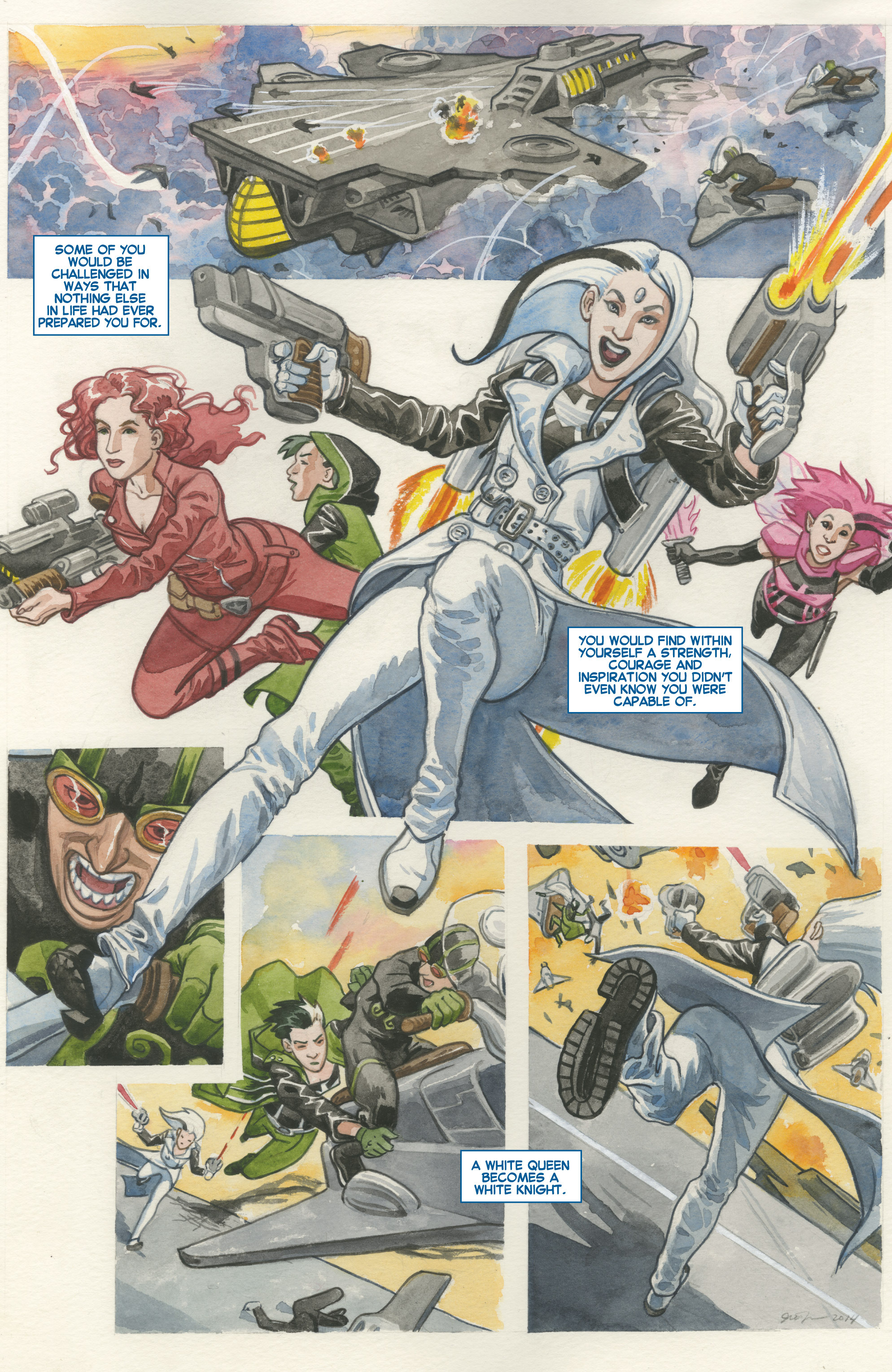 Read online All-New X-Men (2013) comic -  Issue #25 - 26