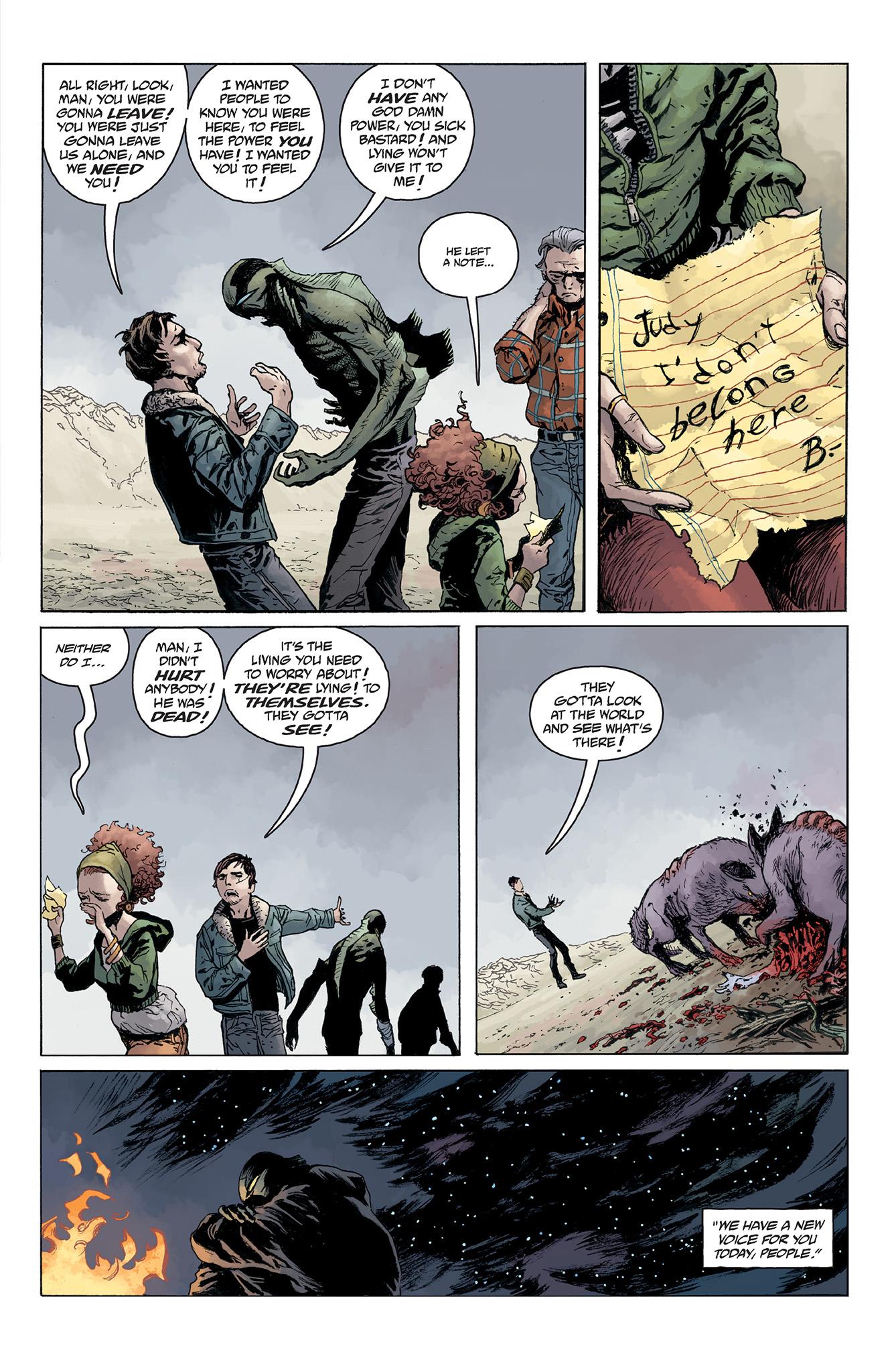 Read online Abe Sapien comic -  Issue #5 - 21