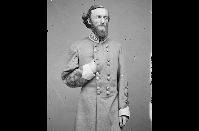Confederate General J.D. Marmaduke in uniform.