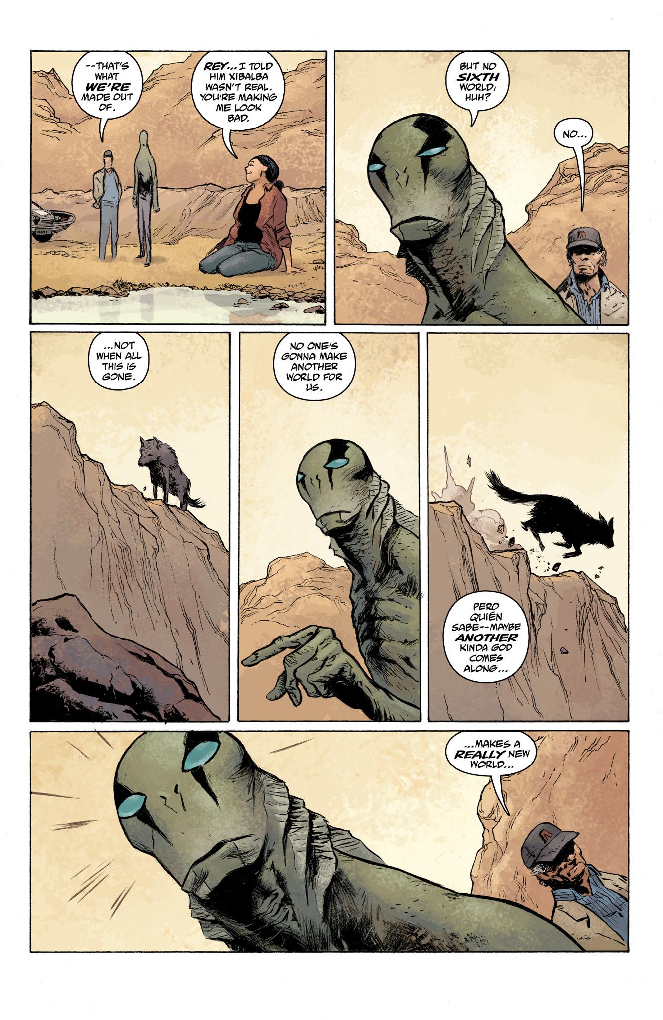 Read online Abe Sapien comic -  Issue #7 - 12