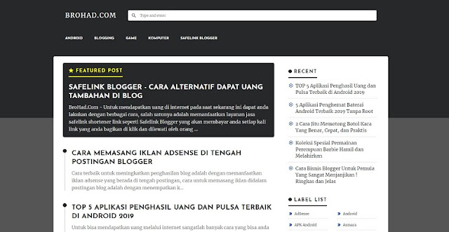 Download Template TEXTRIM v1 Blogger Gratis dari Igniel