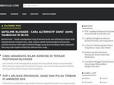 Download Template TEXTRIM v1 Blogger Gratis dari Igniel