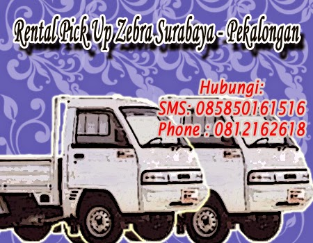 Rental Pick Up Zebra Surabaya - Pekalongan
