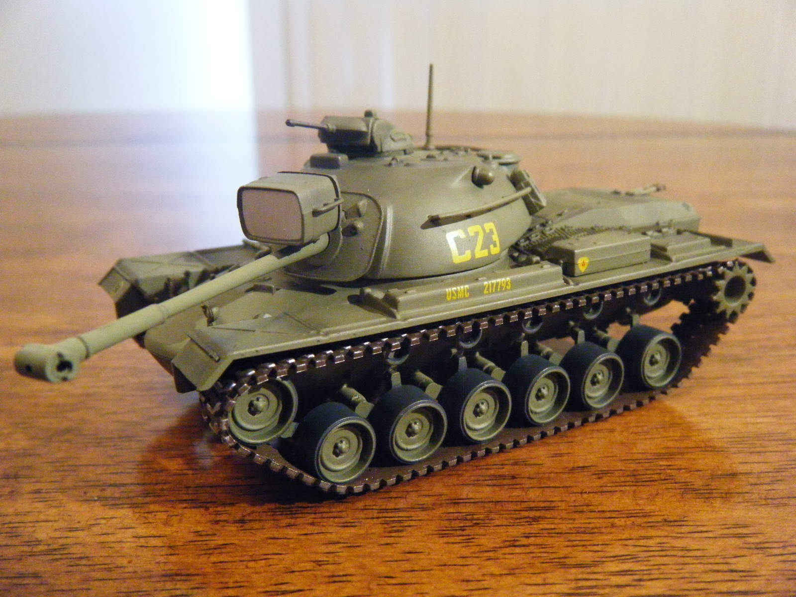 1/72 Scale Tanks