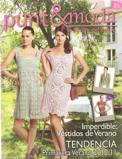 Punto y Moda: Vestidos de Verano