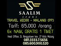 Jadwal Travel Kediri Malang - Saalim Trans