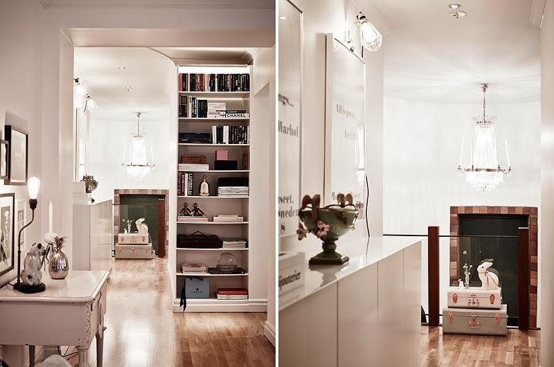 Biały apartament z nowoczesną kuchnią i dodatkami glamour, wystrój wnętrz, wnętrza, urządzanie domu, dekoracje wnętrz, aranżacja wnętrz, inspiracje wnętrz,interior design , dom i wnętrze, aranżacja mieszkania, modne wnętrza, styl skandynawski, styl nowoczesny, glamour, białe wnętrza,