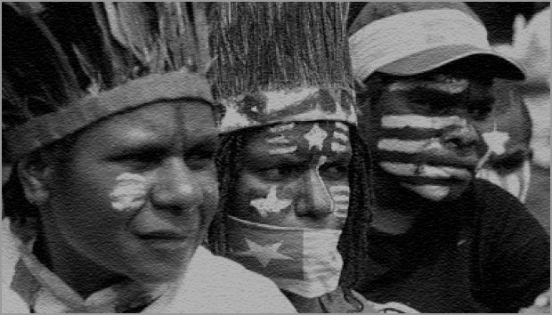 Bazoka Logo: ULMWP (West Papua) vs NKRI-Indonesia