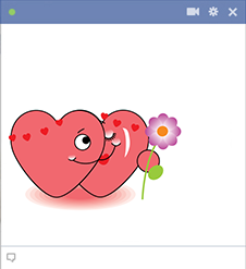 Sweetheart Facebook Sticker