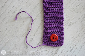 "Scheepjes Catona ""Paper"" Chain (free crochet pattern) by Felted Button"