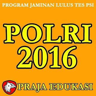 LOGO Praja Edukasi Bimbingan Reguler POLRI & TNI
