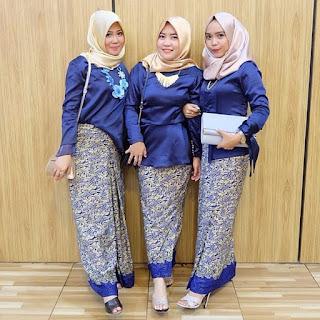 Model Kebaya Kartini Elegan