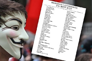 Image: Printable list of  Monsanto Owned 'Food' Producers