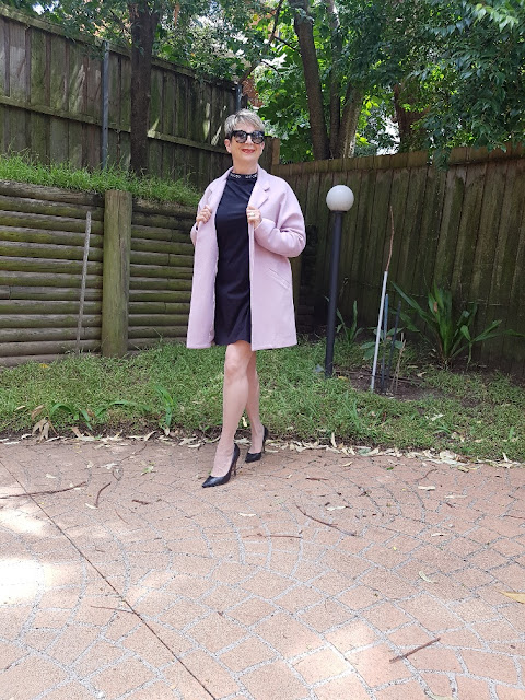 MY NEW DUSTY PINK COAT