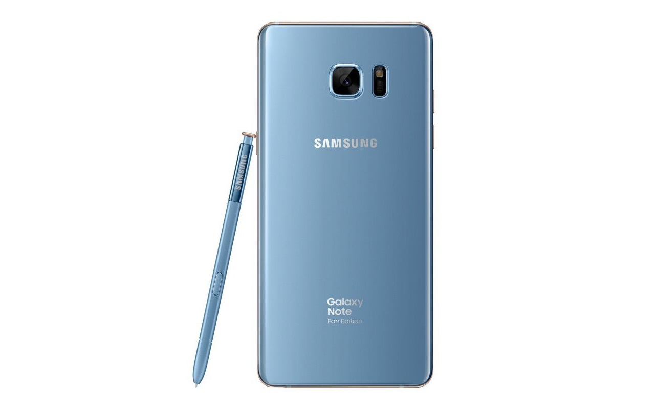 Win free Samsung Galaxy Note 7/FE