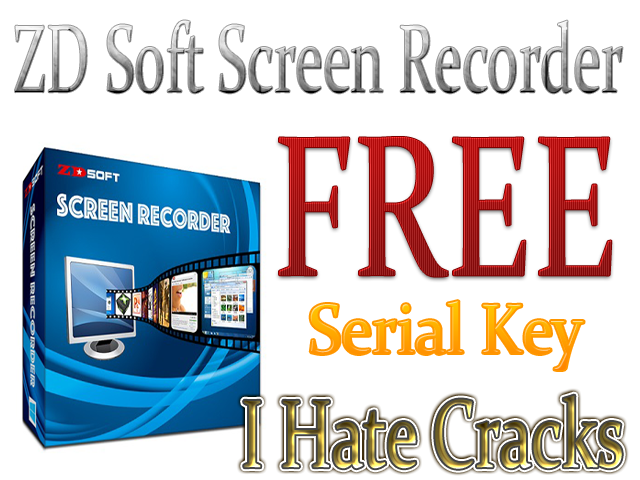 Get ZD Soft Screen Recorder Key For Free (Official Promo)