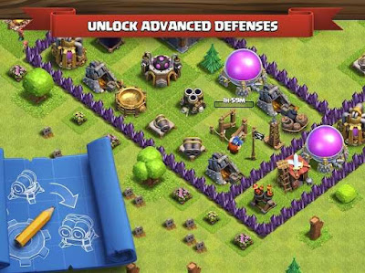 Download Game Clash of Clans Apk v9.24.1 Terbaru 2017