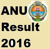 ANU Exam Result 2016