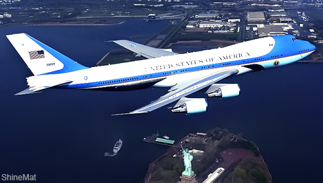air force one aircraft