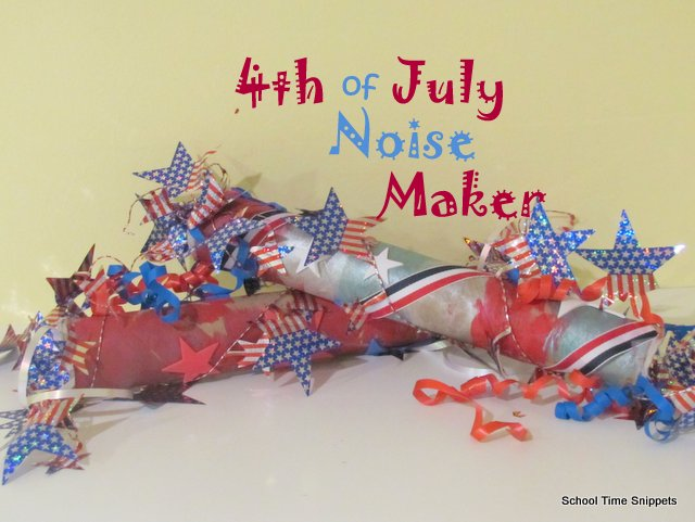 easy 4th of july noise maker for kids