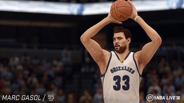 NBA Live 16 Marc Gasol